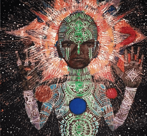 psychedelic painting
